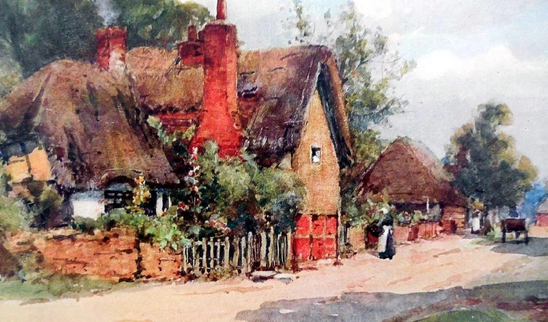 Antique Prints of English Cottages - 8