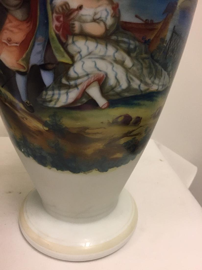 Pair of French Opaline Vases, circa 1890 - 5