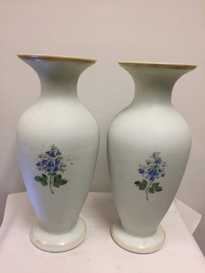Pair of French Opaline Vases, circa 1890 - 7