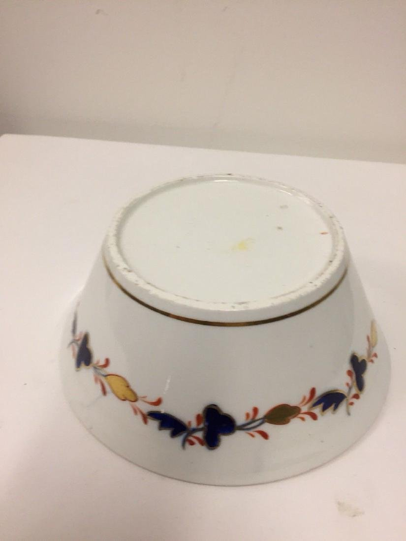 English Porcelain Imari Pattern Bowl, Coalport, ca1820 - 7