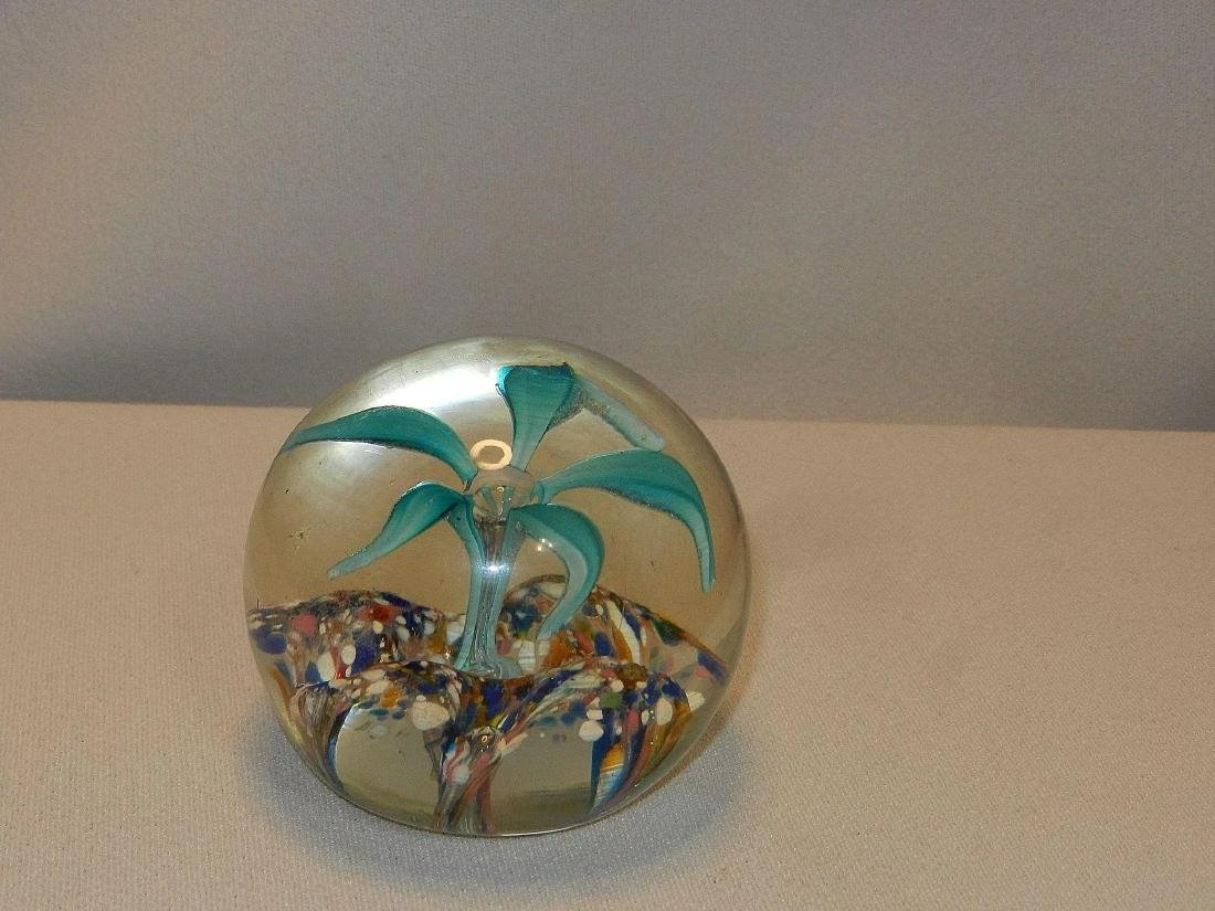 Vintage Hand Blown Paperweight - 3