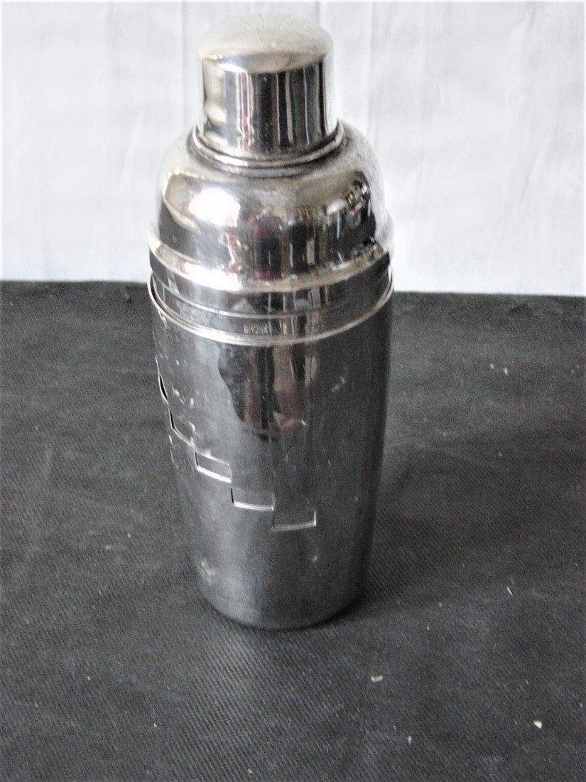 Silver plated shaker of the 50s in 3 parts with the - 2