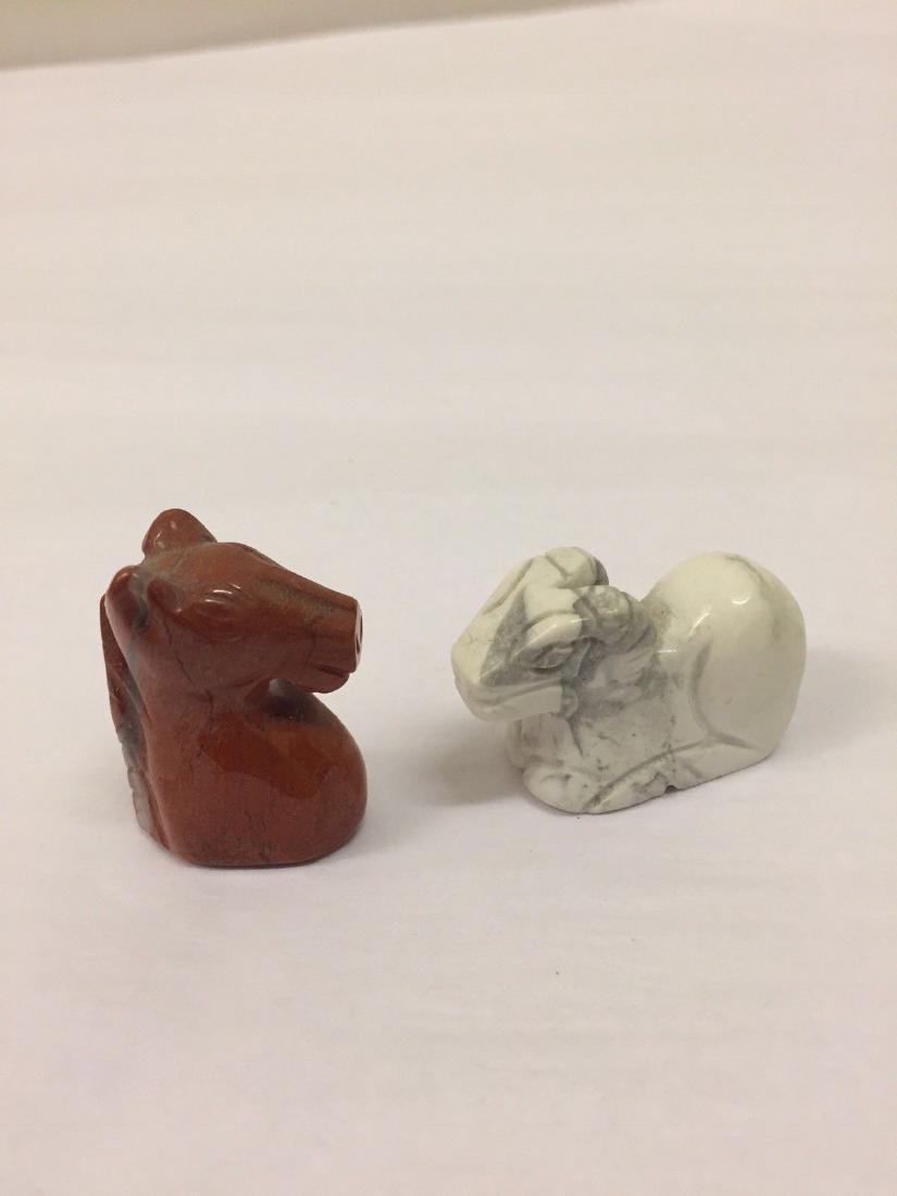 14 Antique Miniature Stone Animals - 4
