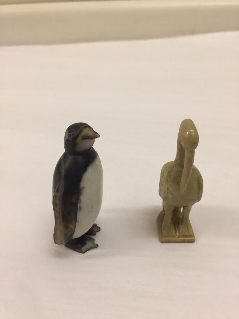 14 Antique Miniature Stone Animals - 7