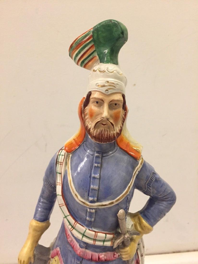 Staffordshire Pearlware Figure of a Highlander, 1890 - 2