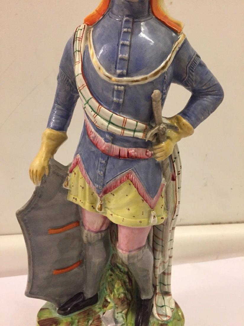 Staffordshire Pearlware Figure of a Highlander, 1890 - 3