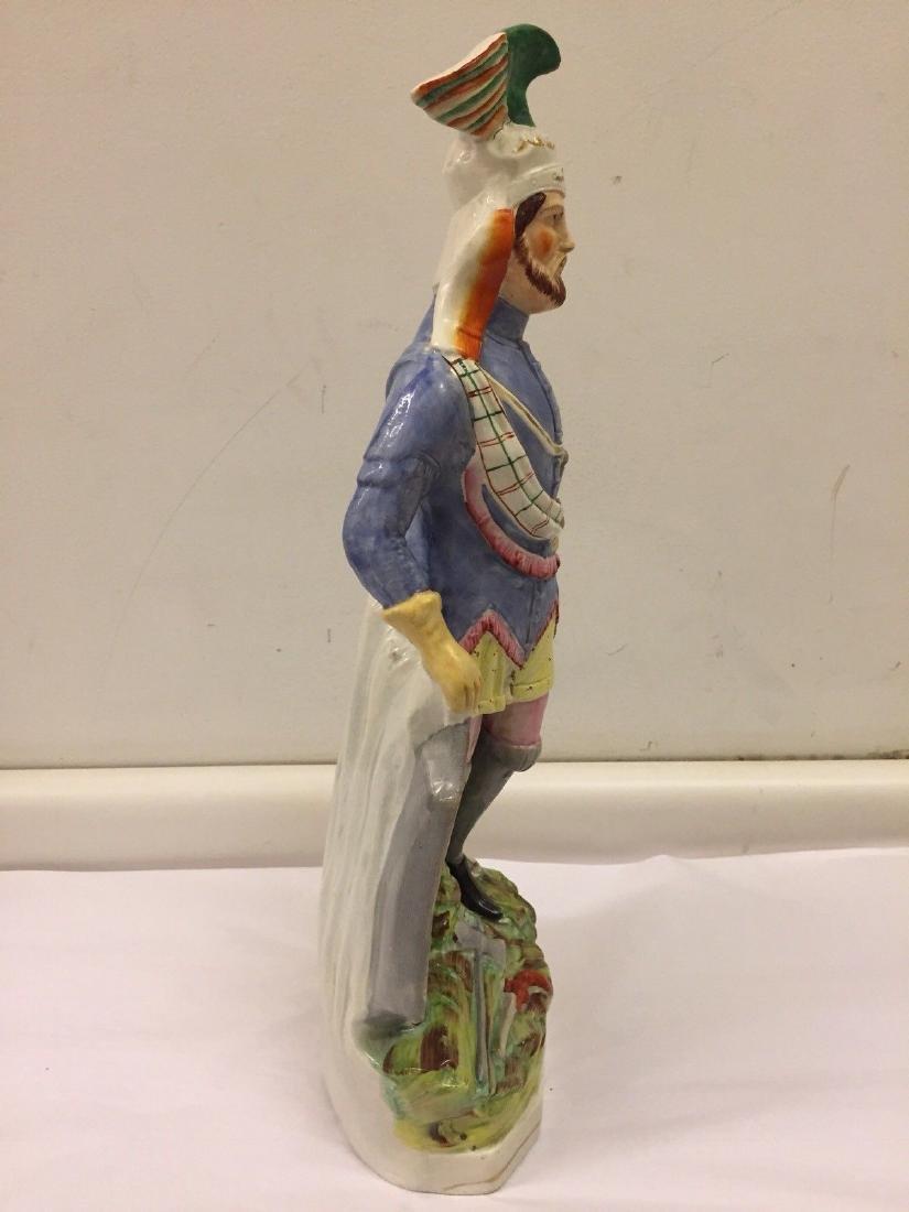 Staffordshire Pearlware Figure of a Highlander, 1890 - 7