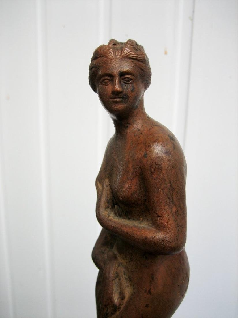 Old Sculpture of Venus  - the goddess of love, beauty - 9