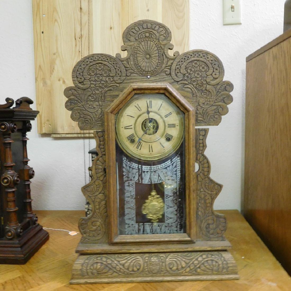 Antique New Haven Parlor Kitchen clock -Working .