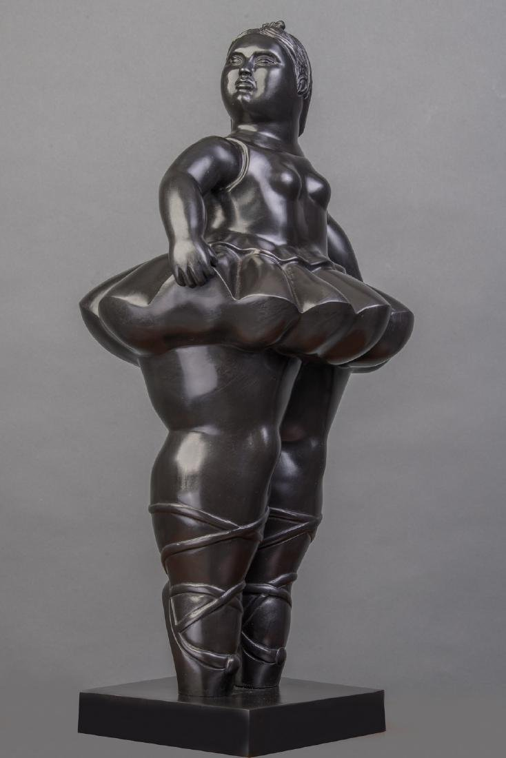 LARGE 42 INCHES TALL Signed Botero, and bears Italian