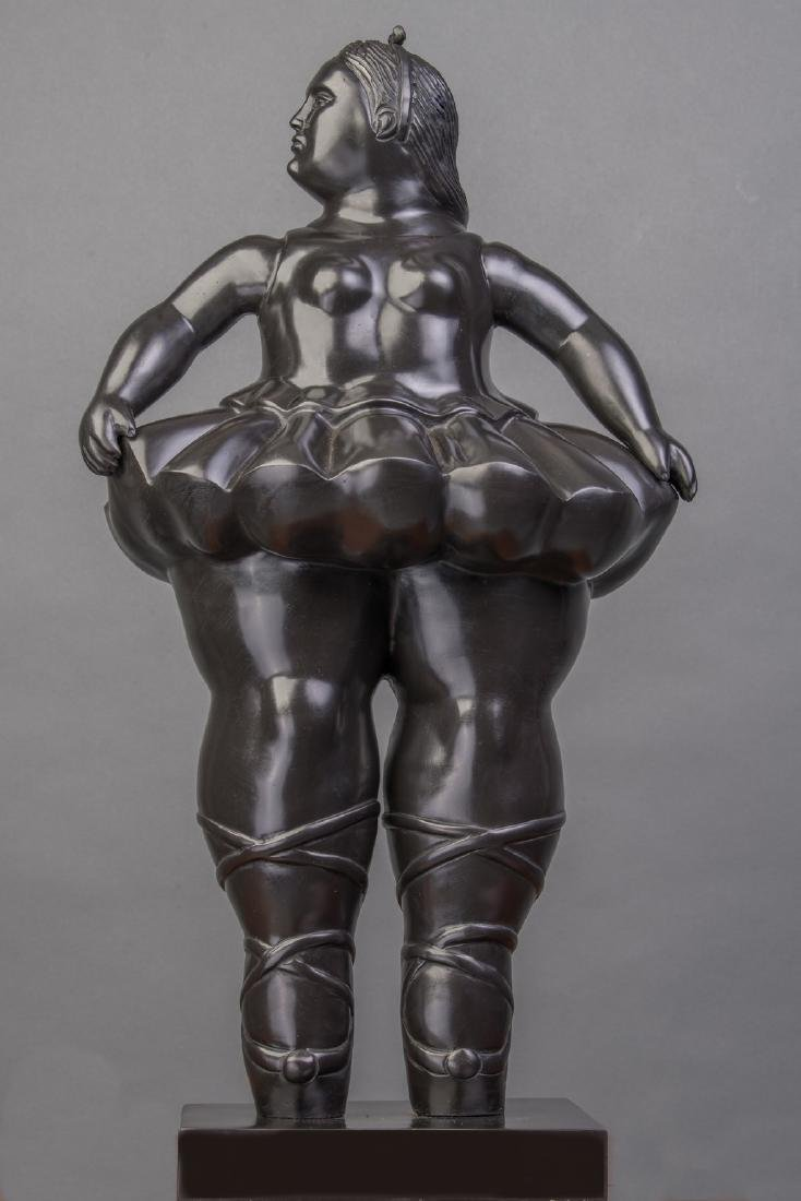 LARGE 42 INCHES TALL Signed Botero, and bears Italian - 2