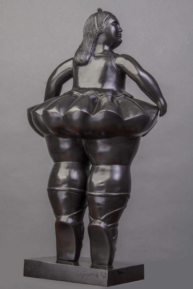 LARGE 42 INCHES TALL Signed Botero, and bears Italian - 4