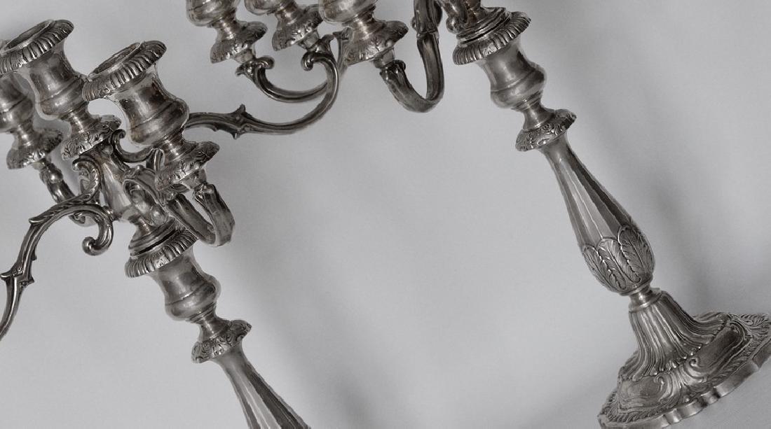 Silver Candelabri - 3