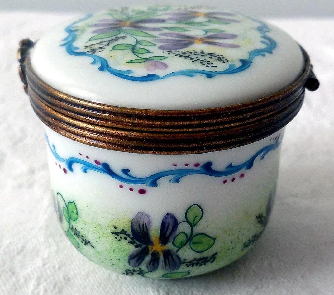 Limoges Porcelain Trinket Box - 3