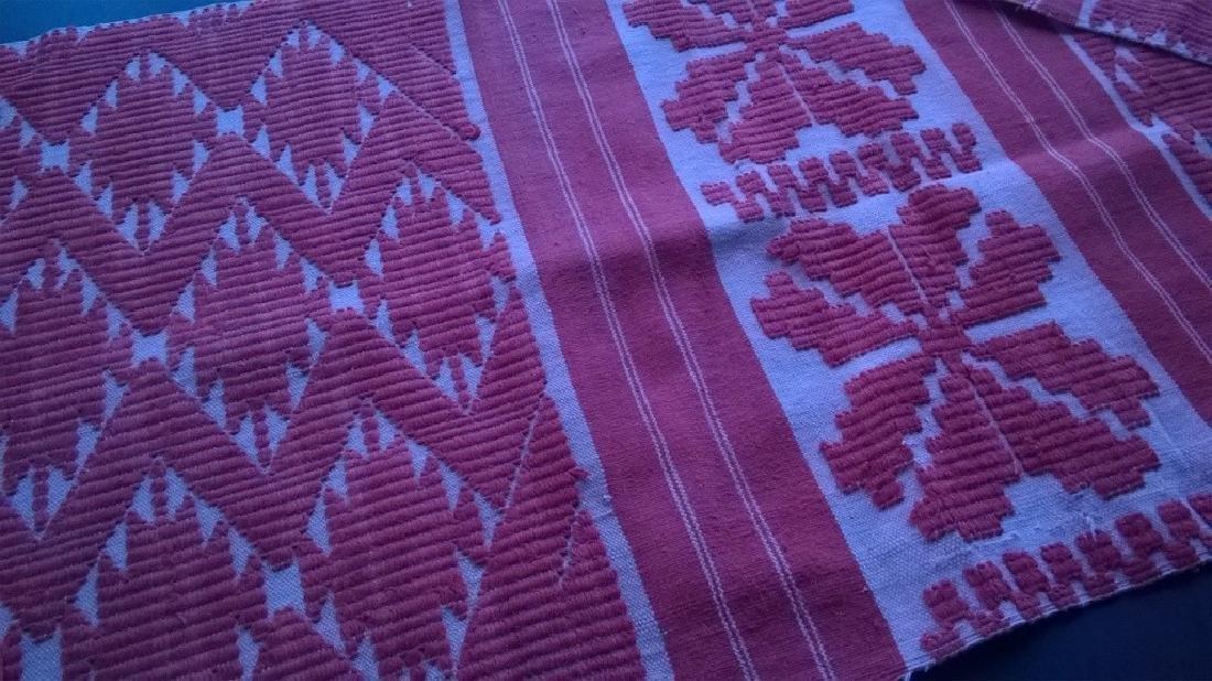 Handmade ritual towel. Length - 99in (250 cm) - 10
