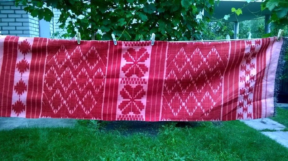 Handmade ritual towel. Length - 99in (250 cm) - 3