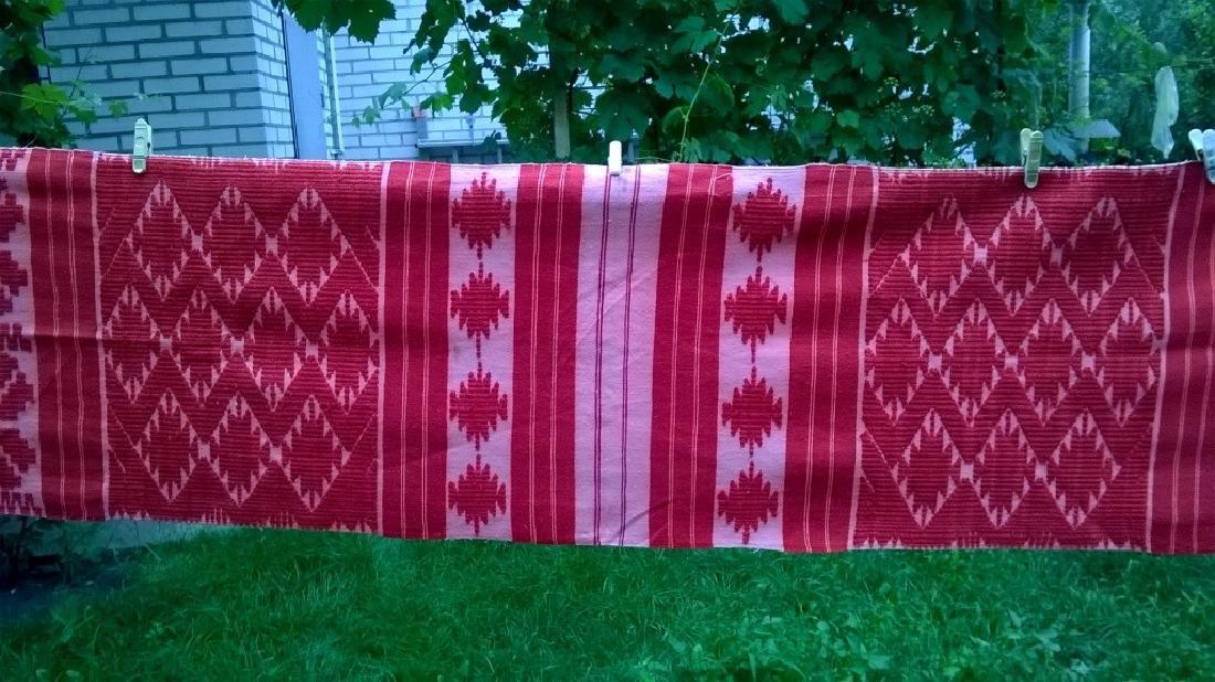 Handmade ritual towel. Length - 99in (250 cm) - 4