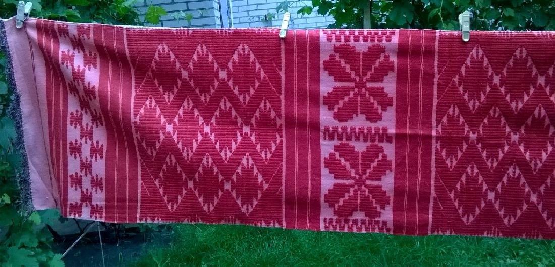 Handmade ritual towel. Length - 99in (250 cm) - 5