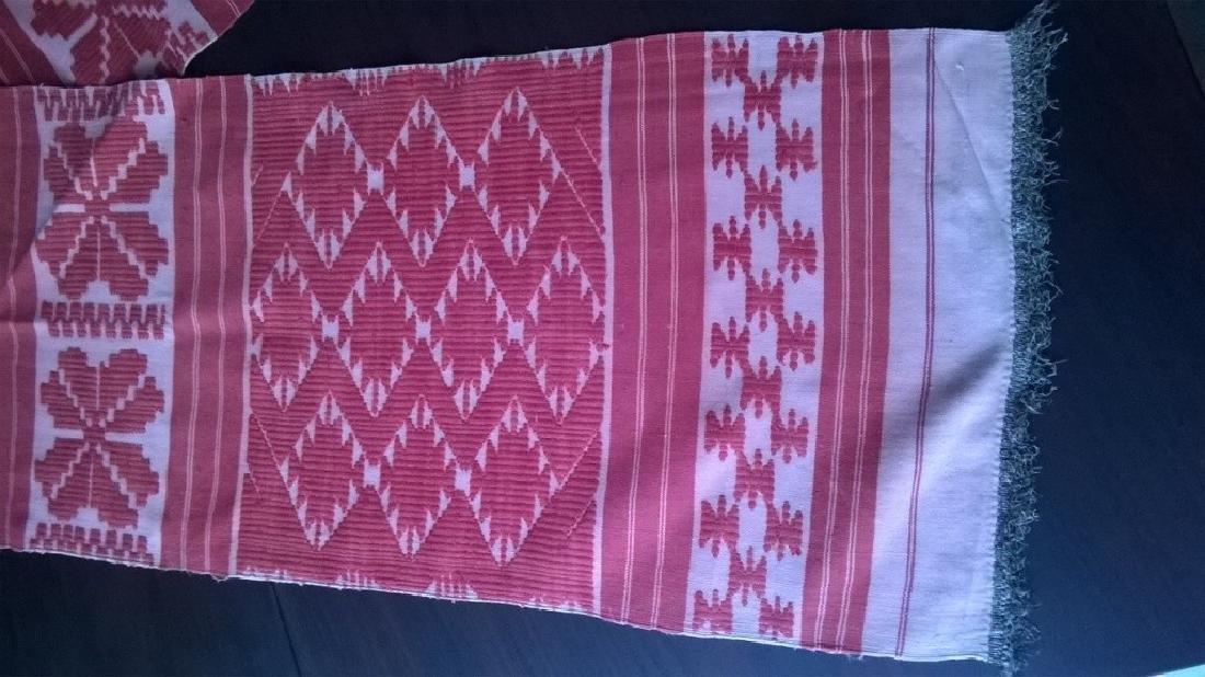 Handmade ritual towel. Length - 99in (250 cm) - 7