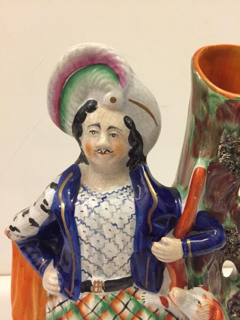Staffordshire Pearlware Spill Vase Figure, 1890 - 2