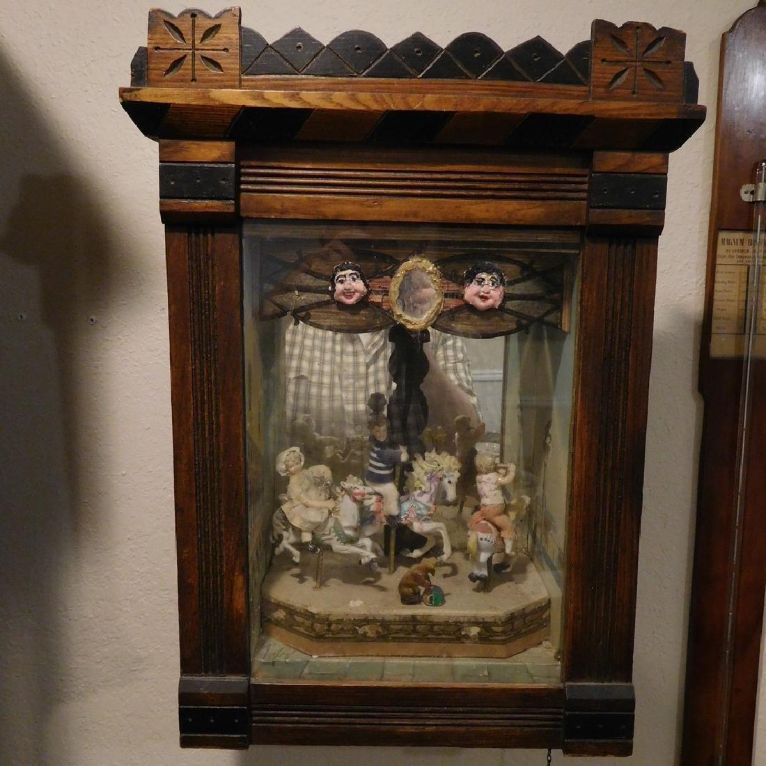 Very unusual Carousel music box