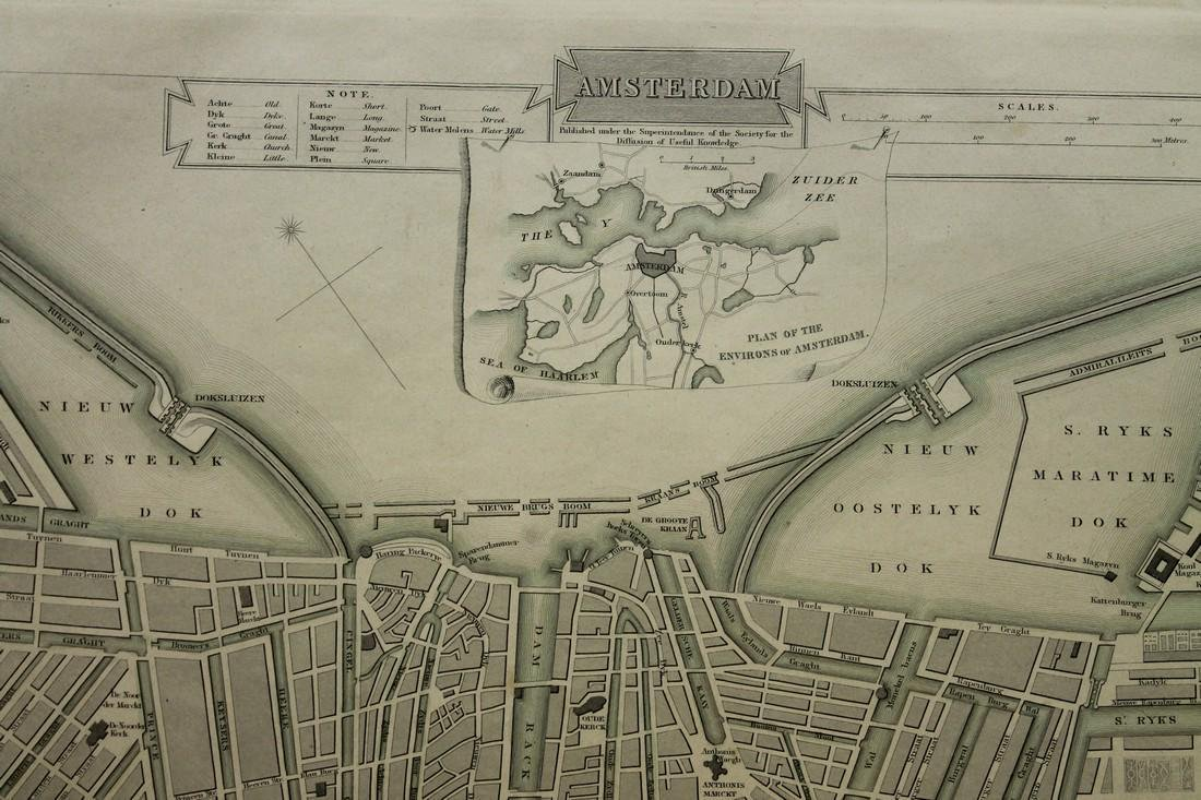 Map of Amsterdam - 2