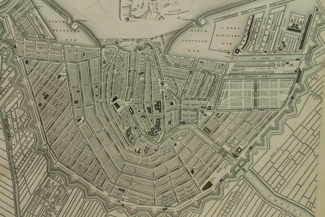 Map of Amsterdam - 3