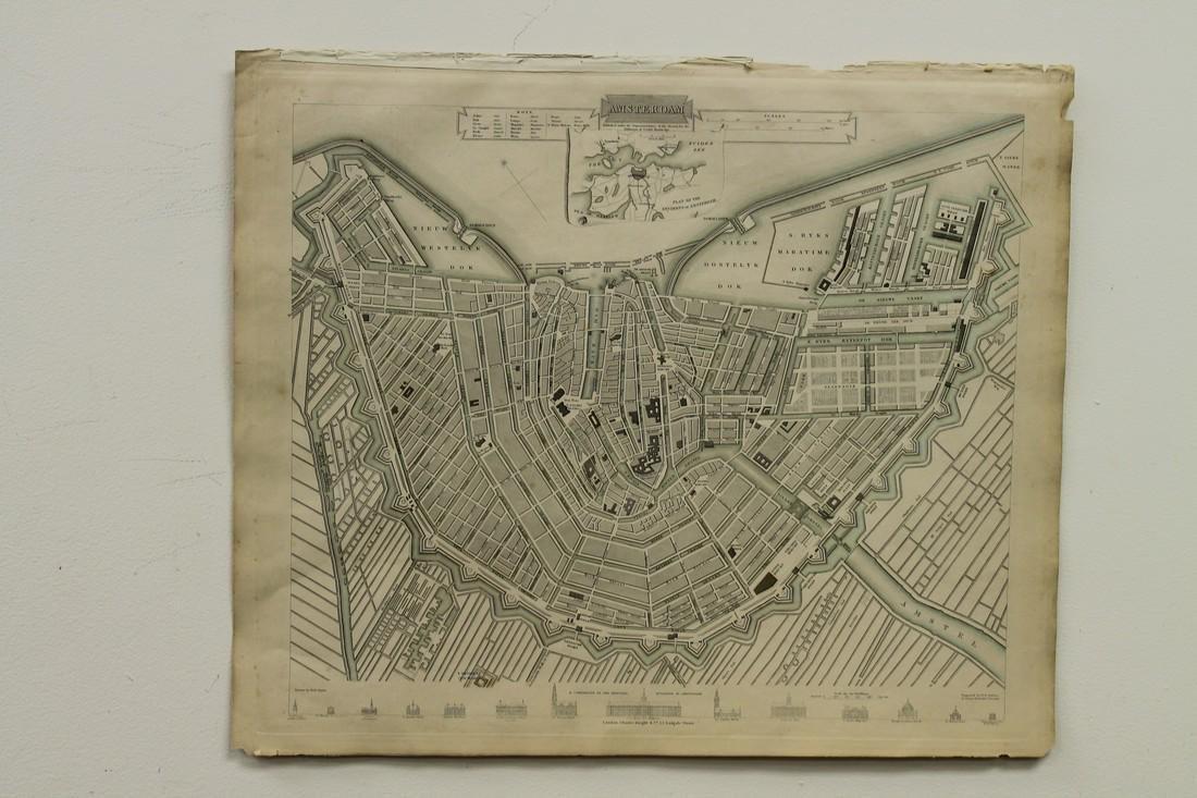 Map of Amsterdam - 4