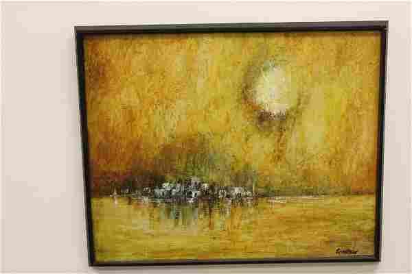 Frank Carmelitano Painting New York