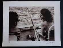 Che Guevara and Castro Fishing