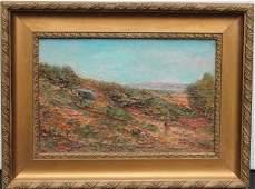 Eduard Ducros Painting Provence Landscape