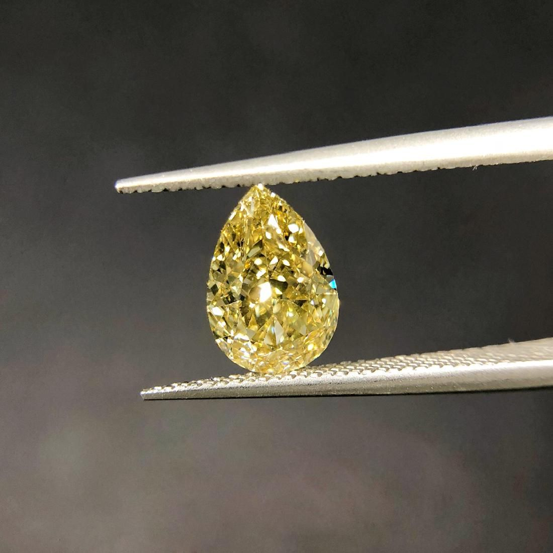 GIA Certified 1.26 Ct. Natural Fancy Brownish Yellow