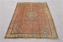 Hand Woven Semi Antique Persian Mashhad 12.7x9.4