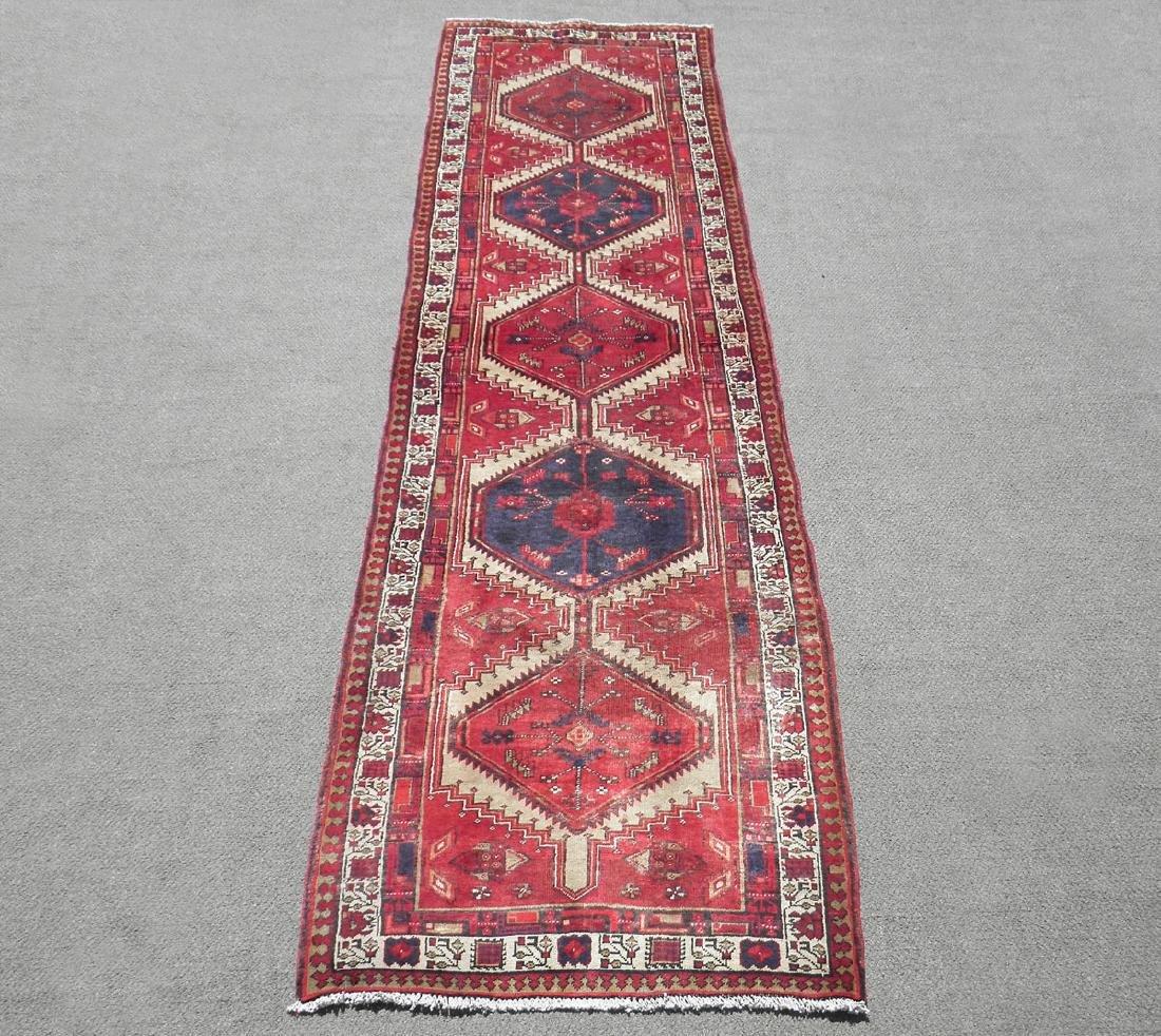 Beautiful Semi Antique Persian Najafabad 10.7x6.7