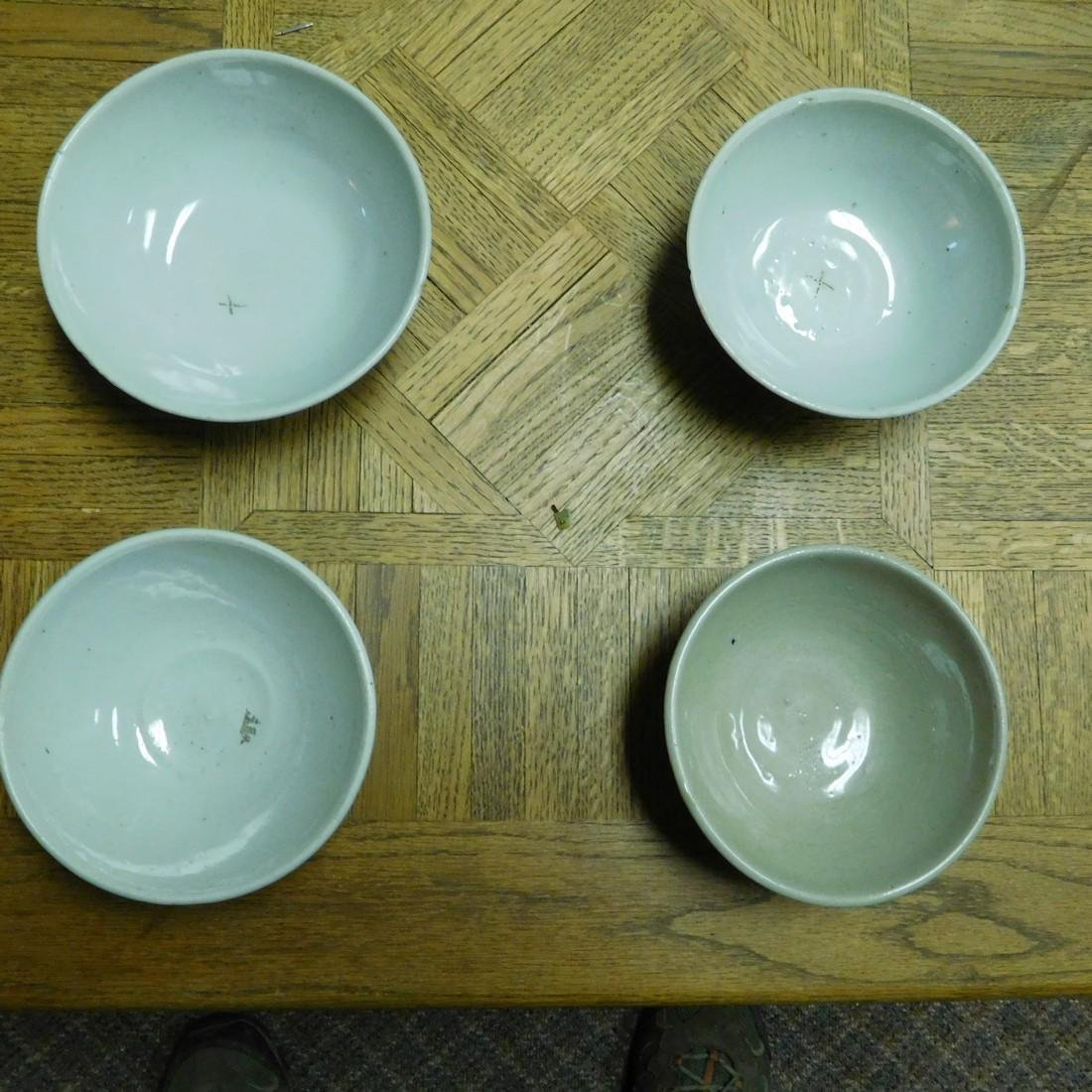Set of (8) Chinese antique bowls - Qing Dynasty bowls - 6