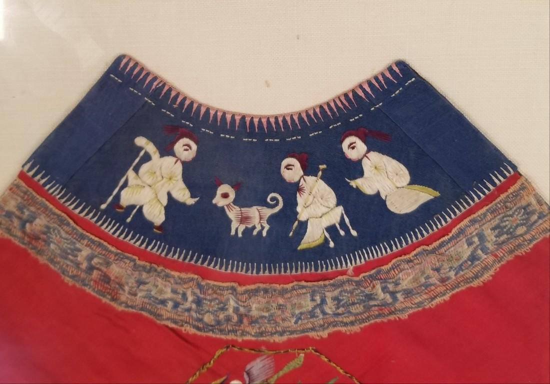 1942 Antique Chinsese Silk Embroidered Toddler - 4