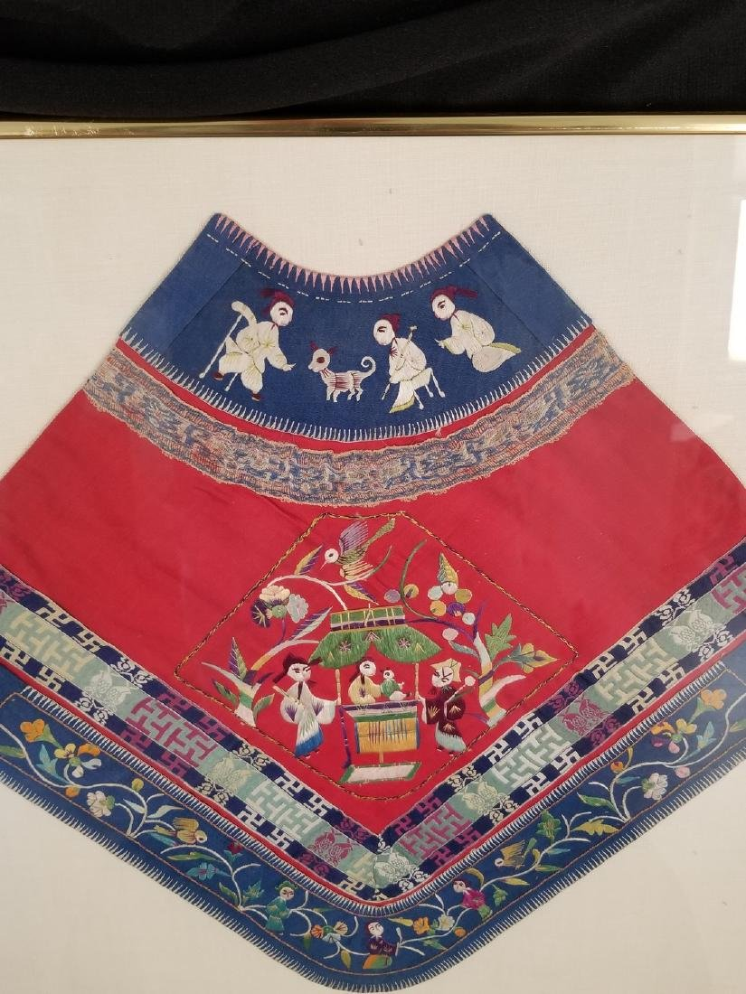 1942 Antique Chinsese Silk Embroidered Toddler - 7