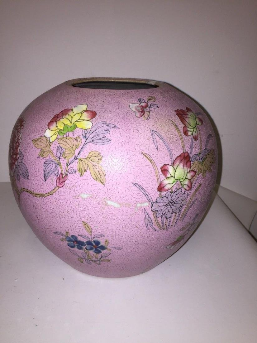 Chinese Porcelain Famille Rose Ginger Jar, ca 1860 - 7