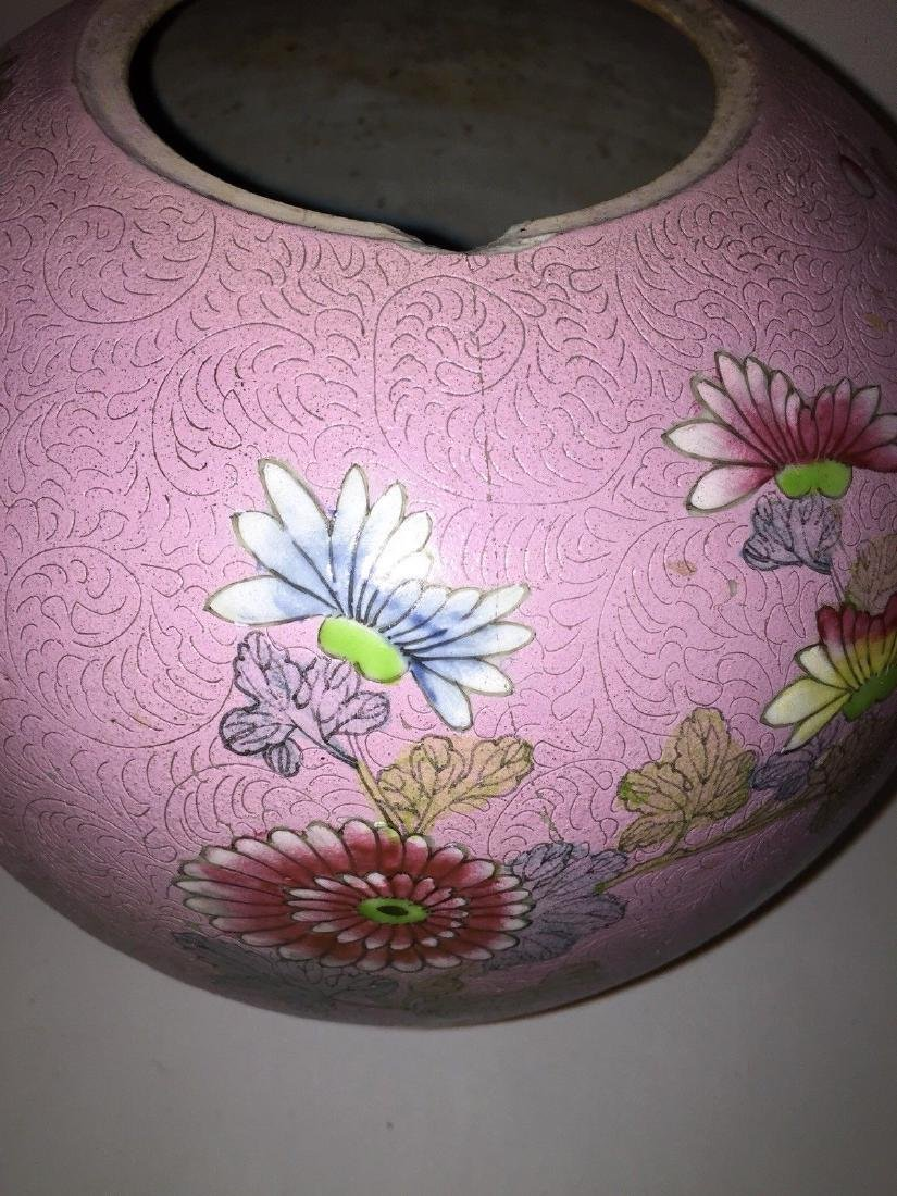 Chinese Porcelain Famille Rose Ginger Jar, ca 1860 - 9