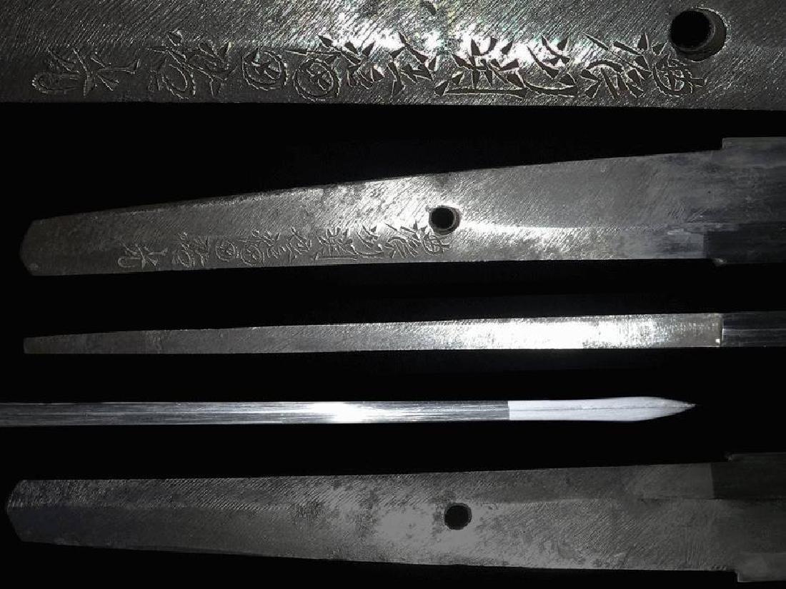 Mighty Nihonto Katana sword signed Fukuda Sukemitsu His - 2
