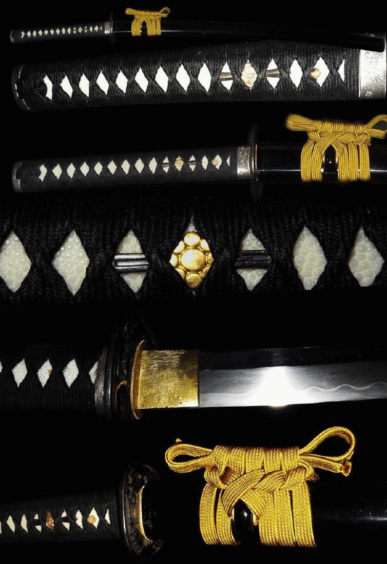 Mighty Nihonto Katana sword signed Fukuda Sukemitsu His - 4