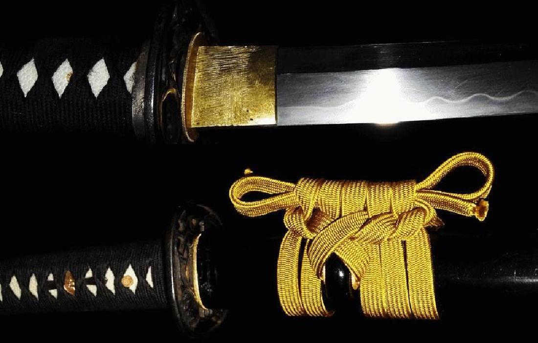Mighty Nihonto Katana sword signed Fukuda Sukemitsu His - 5