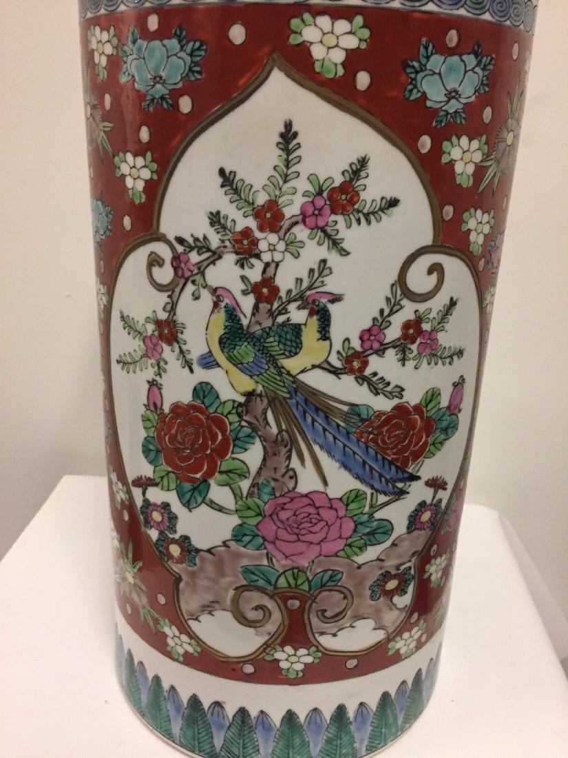 Antique Japanese Porcelain Umbrella Stand, 20th Century - 2