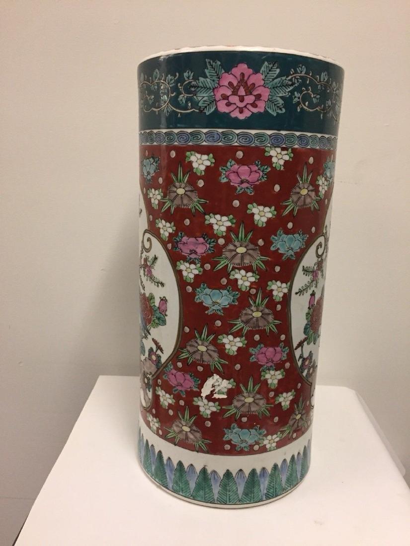 Antique Japanese Porcelain Umbrella Stand, 20th Century - 4