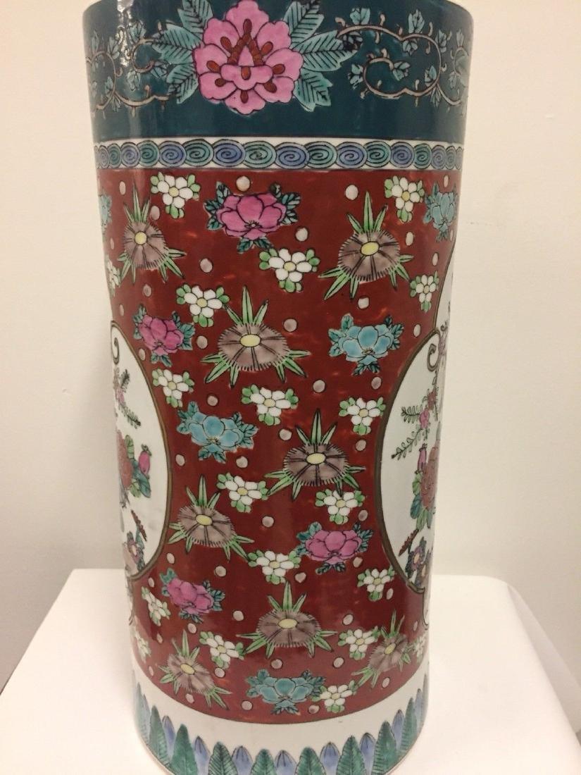 Antique Japanese Porcelain Umbrella Stand, 20th Century - 9