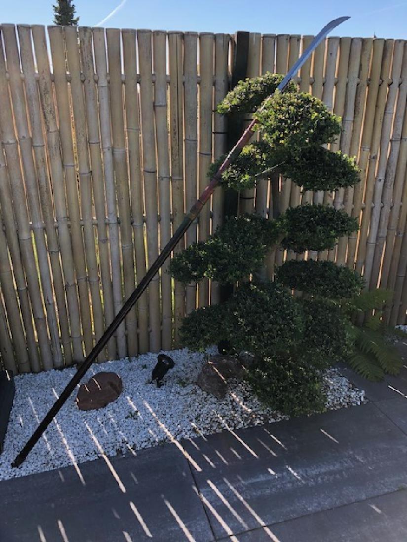 Original Japanese samurai Naginata. Created by Kaga no