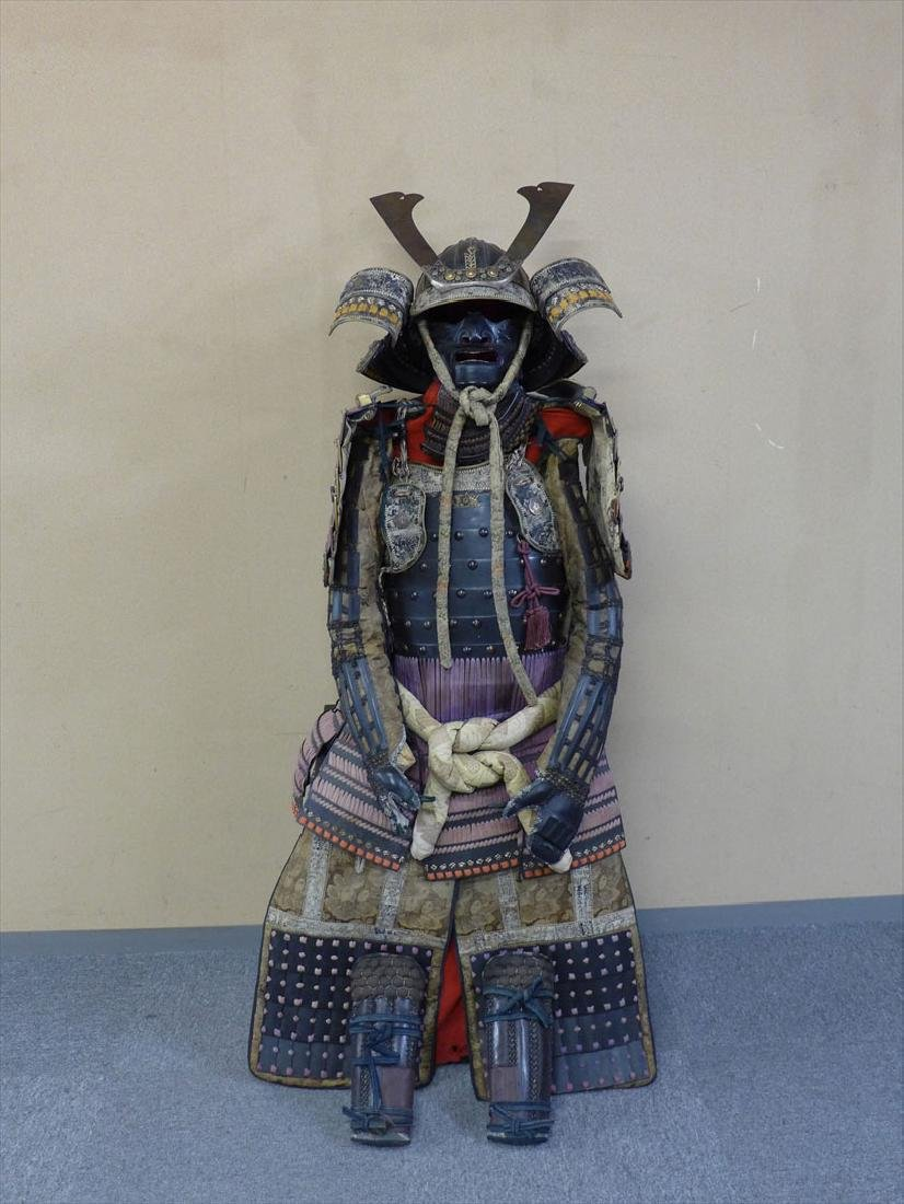 A beautiful Japanese Samurai Armor The armor is