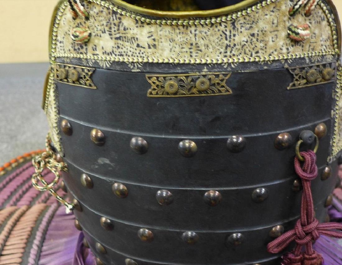A beautiful Japanese Samurai Armor The armor is - 2