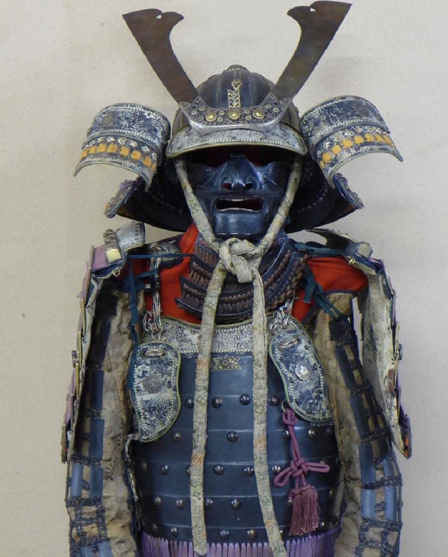 A beautiful Japanese Samurai Armor The armor is - 4