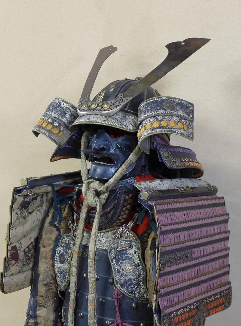 A beautiful Japanese Samurai Armor The armor is - 5